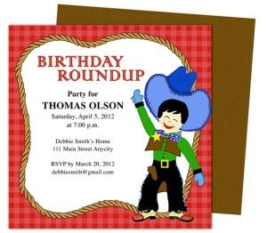 kids birhtday party invitations