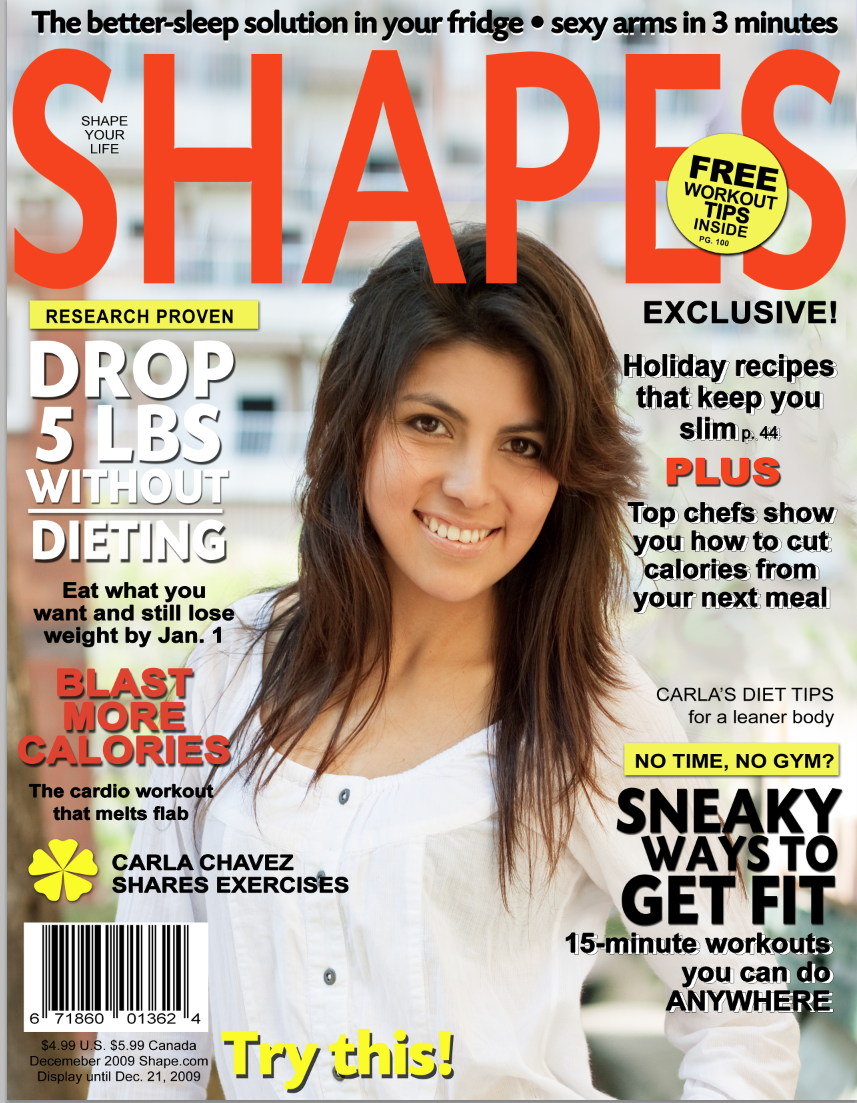 Magazine cover templates search results calendar 2015 for Seventeen magazine cover template